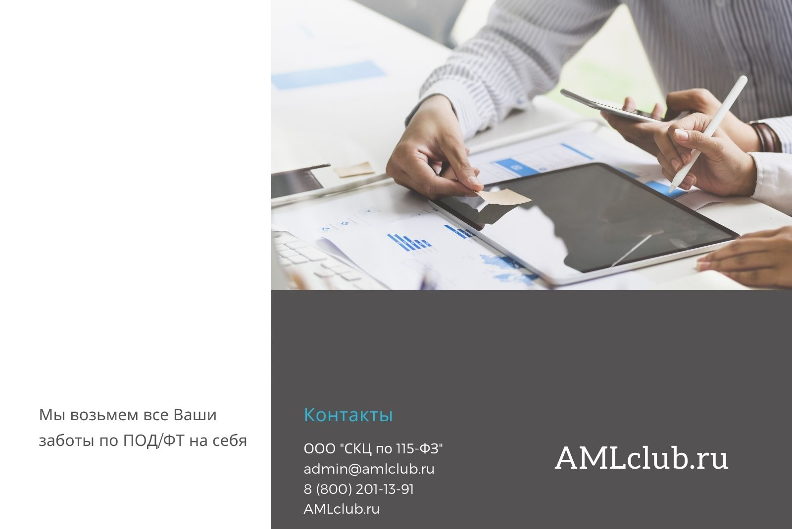 Услуги AMLclub.ru
